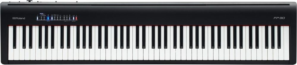 Roland FP-30 Digital Piano, Black