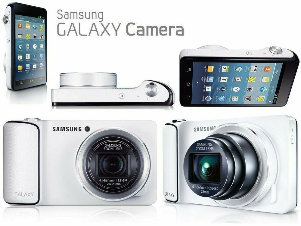 SAMSUNG GALAXY EK-GC100 GC100 DIGITAL CAMERA WHITE 3G +