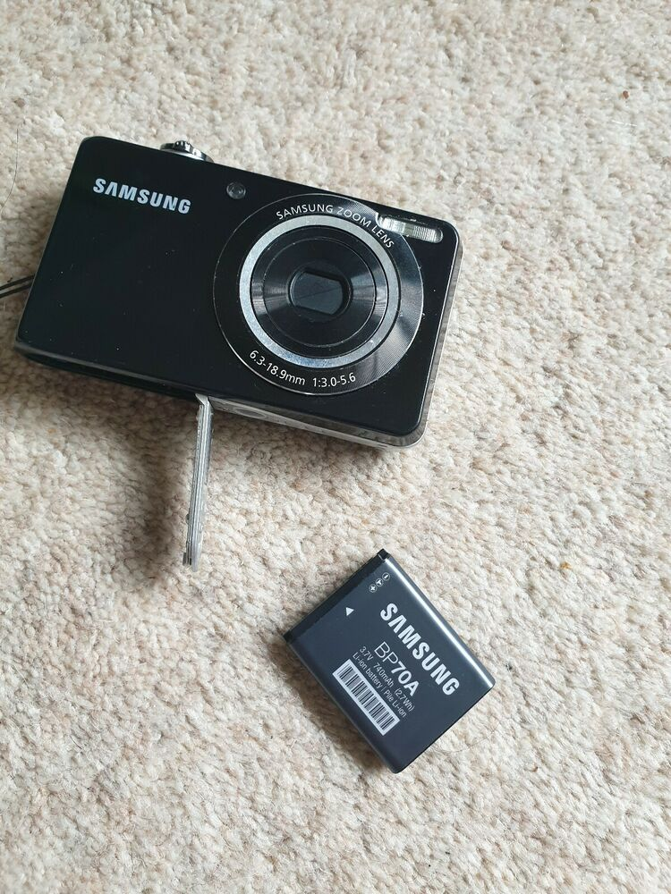 Samsung PL Series PLMP Digital Camera - Black