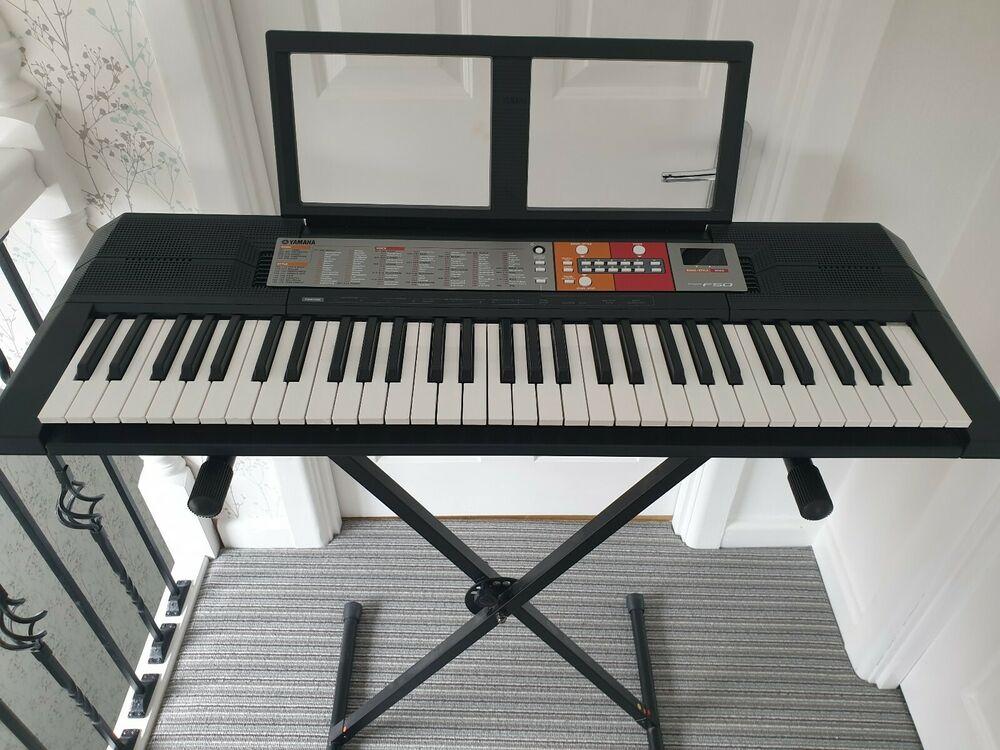 Yamaha F Key Piaggero Home Keyboard Black