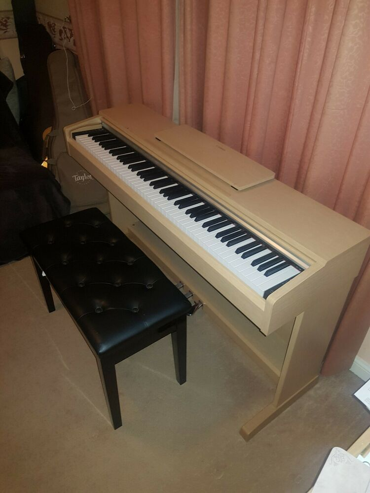 Yamaha YDP-142 Digital Piano Cherry