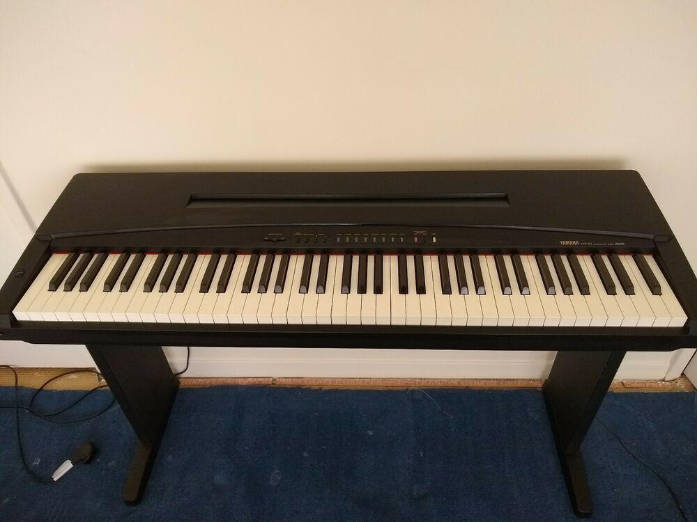 Yamaha YPP50 Electronic Piano - Black
