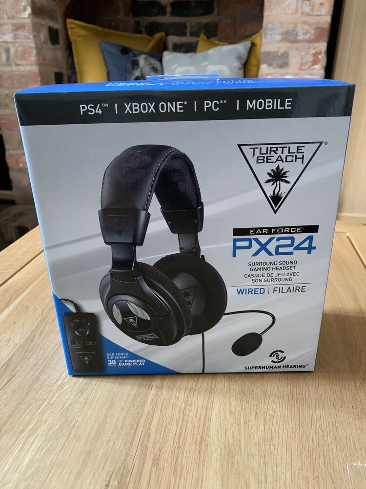 Brand New Unwanted Gift Turtle Beach Ear Force PX24 headset