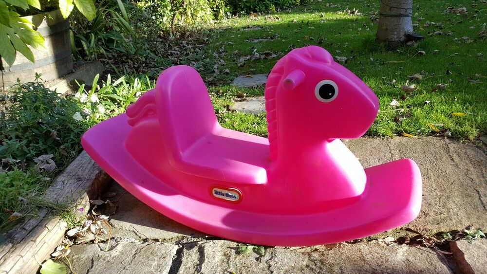 Little Tikes Pink Childrens Seesaw Rocking Horse