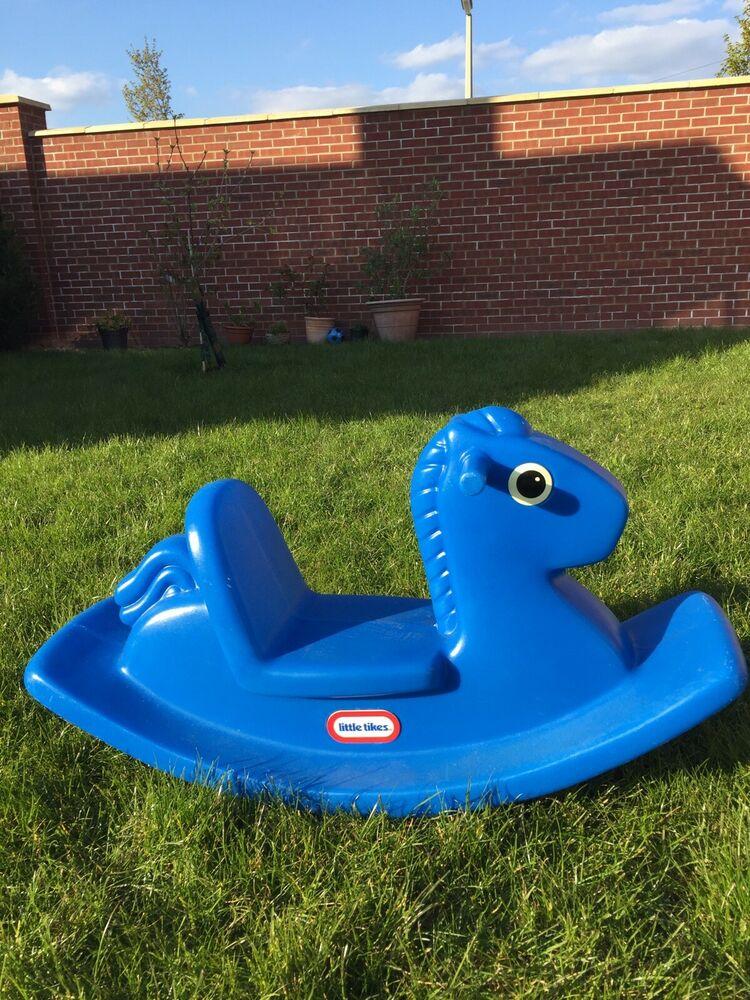 Little Tikes Rocking Horse Blue