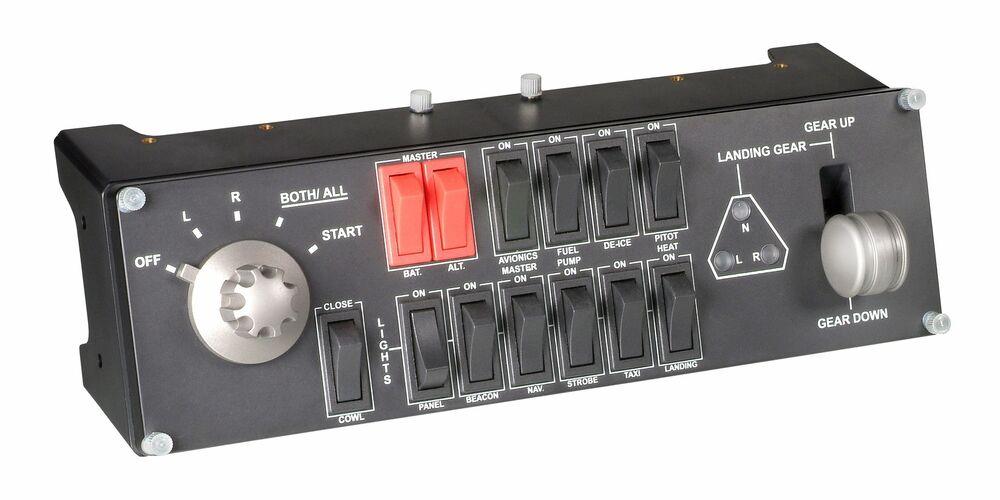 Logitech  - Flight Switch Panel - Flight simulator