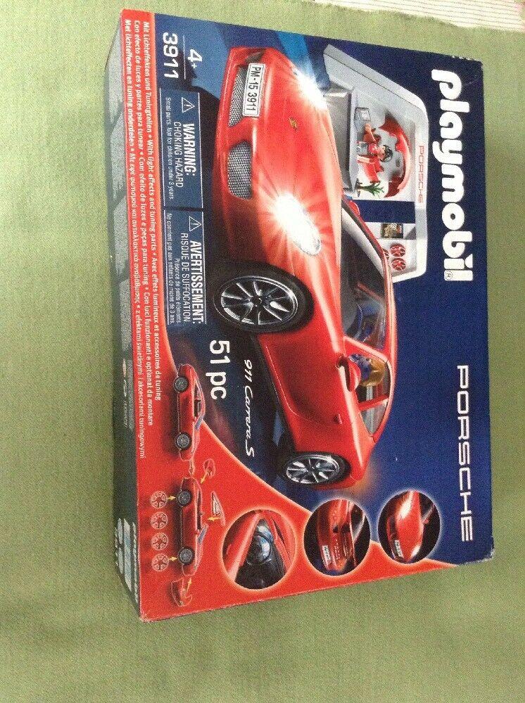 Playmobil  Exact Scale Replica Porsche 911 Carrera S