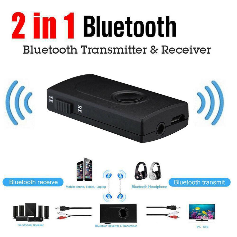 2 In1 Bluetooth Wireless Audio Transmitter Receiver 3.5mm