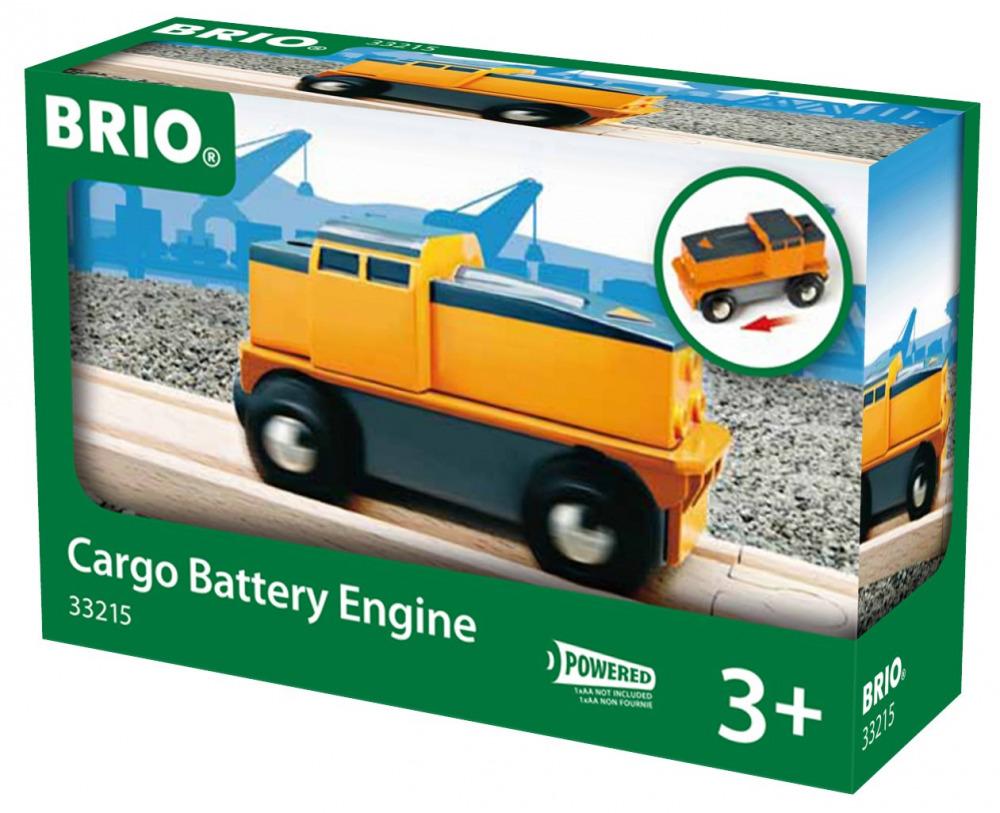 BRIO World - Cargo Battery Train
