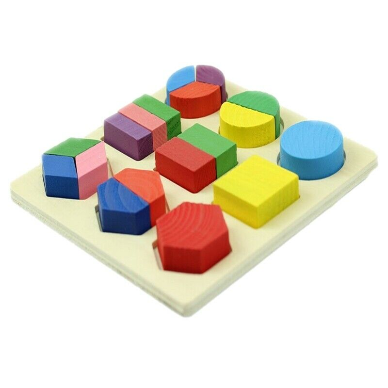 Colored Baby Kids Wooden Aliquots Boards Learning