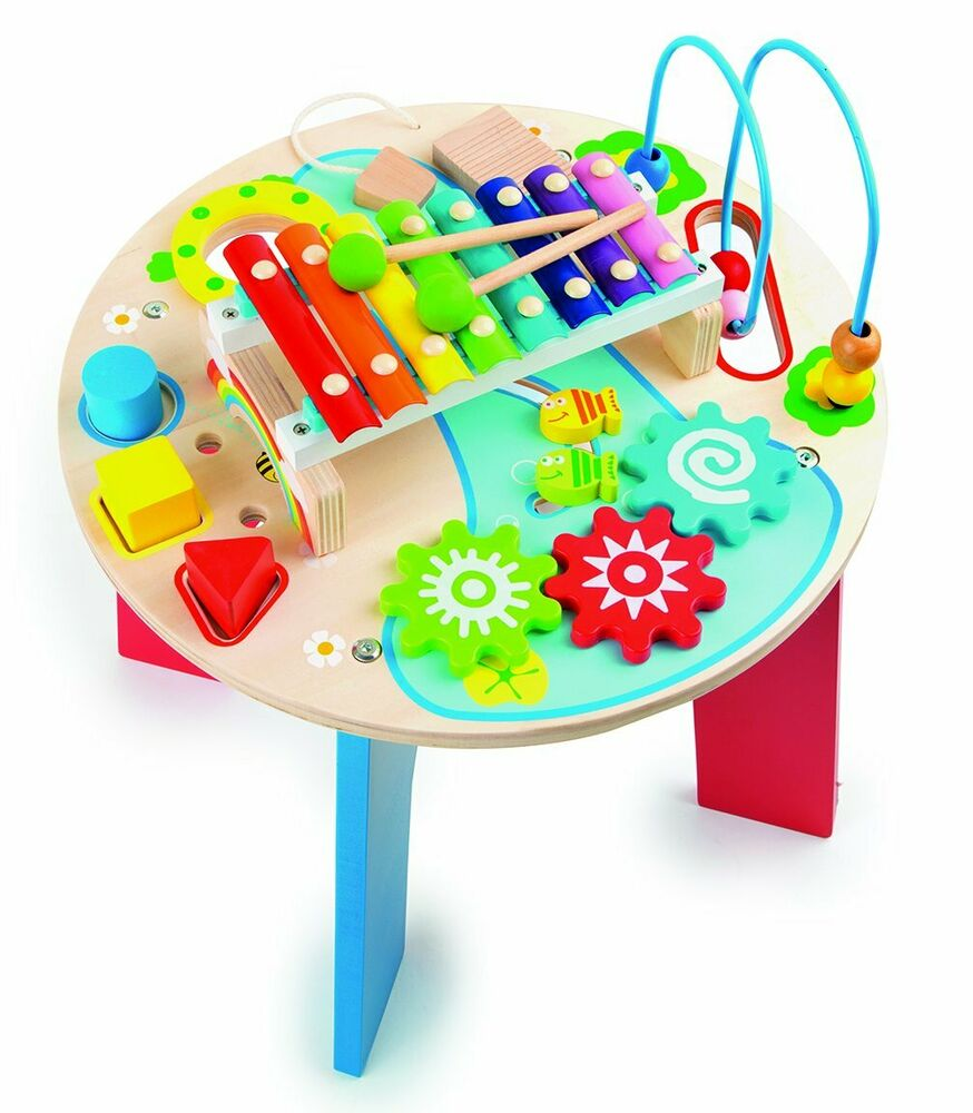 Small Foot  in 1 Motor Skills Trainer and Music Table