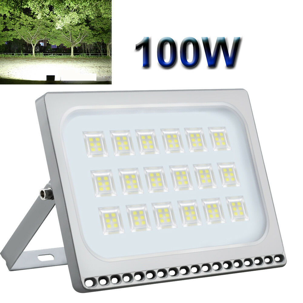 100W LED Floodlights SMD Outdoor Garden Seucrity Light
