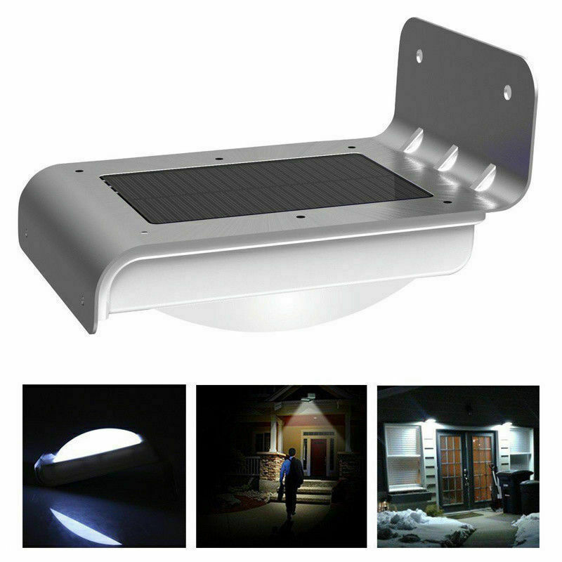 16 LED Solar Power Motion Sensor Garden Security Lamp