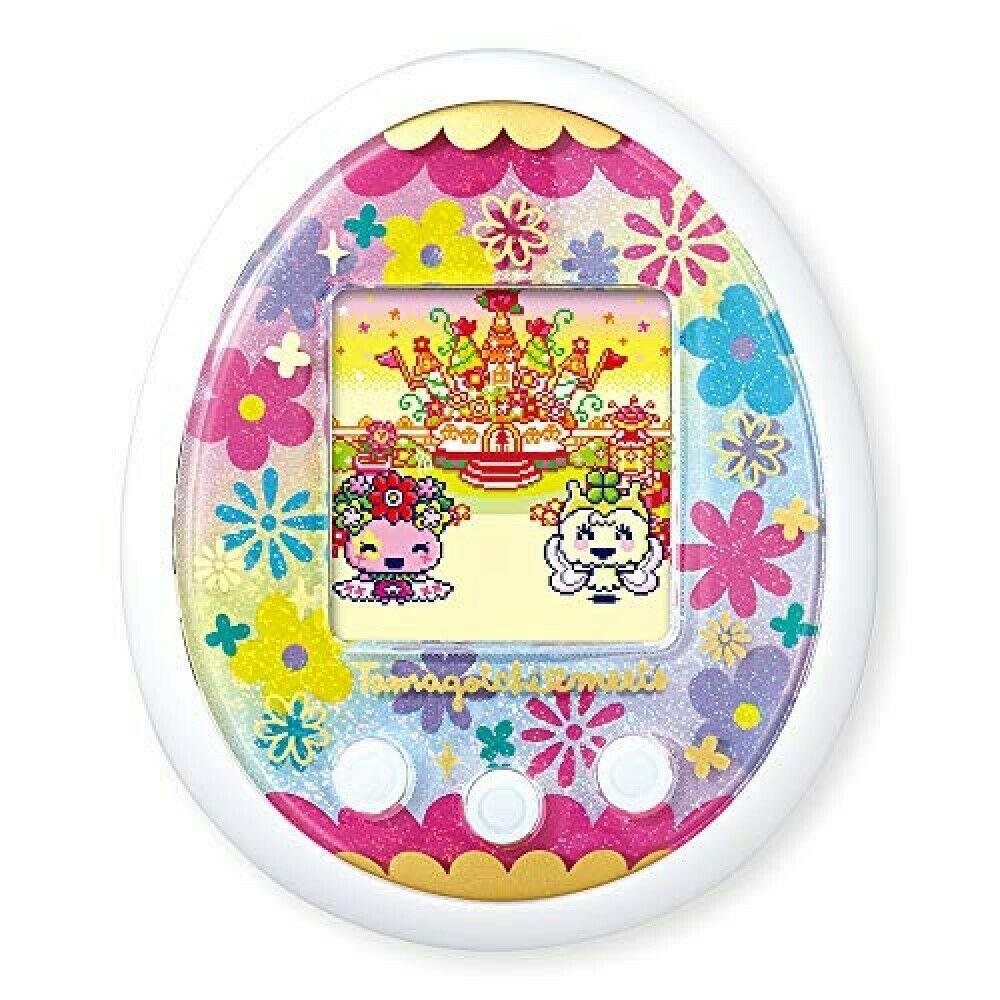 Bandai Tamagotchi Meets Pastel Meets Ver. White From JAPAN