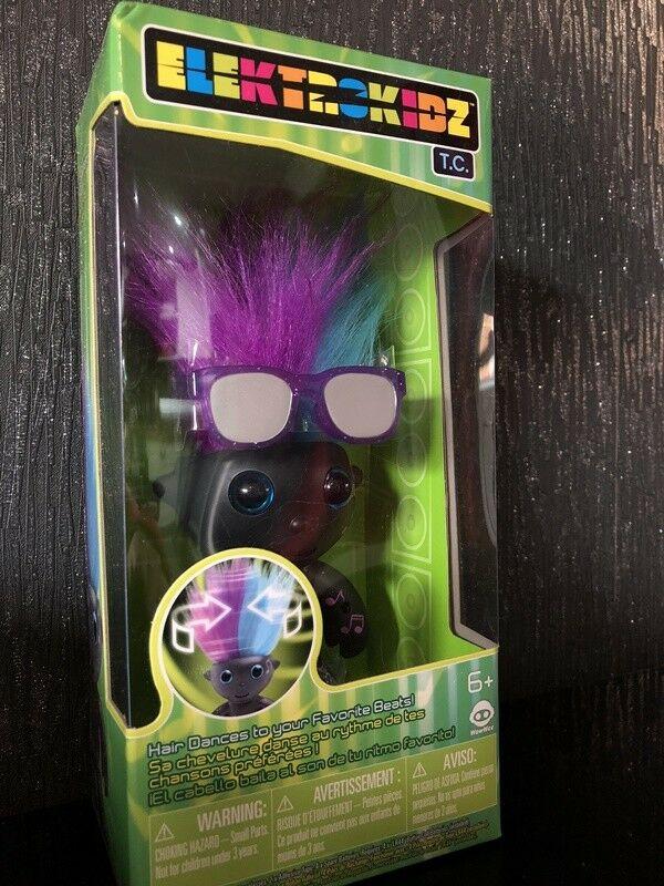 Elektrokidz TC T.C by Wow Wee Troll Like Toy Hair Dances to