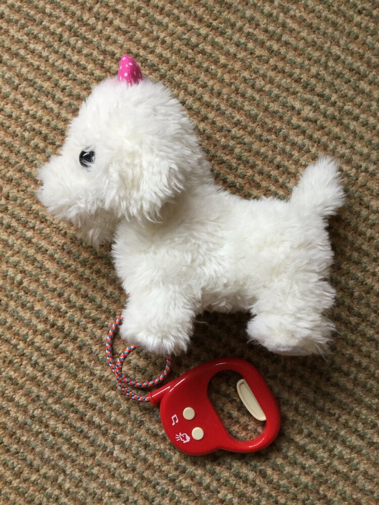 Fluffy Puppy, Walking And Barking Toy