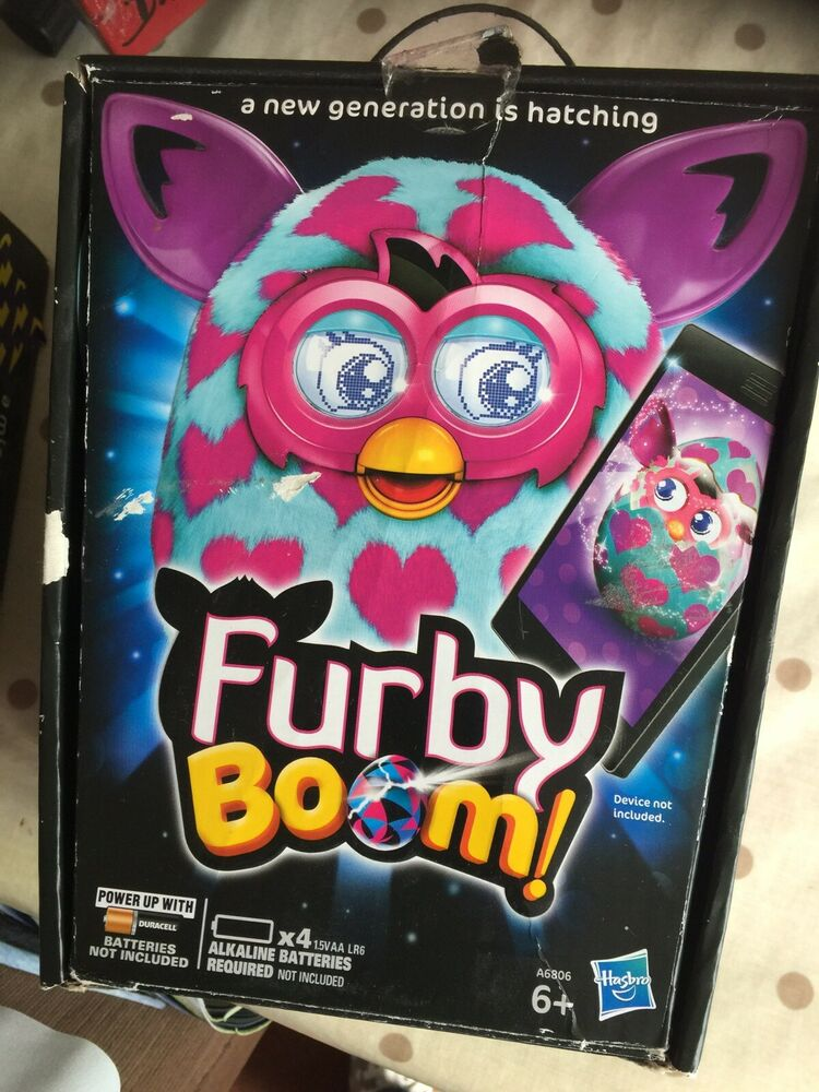 Furby Connect Electronic Pet Blue And Pink 150 Eye