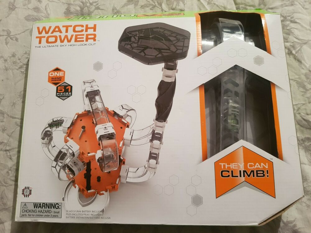 HEXBug Nano V2 Watch Tower The Ultimate Sky High Look-Out 1