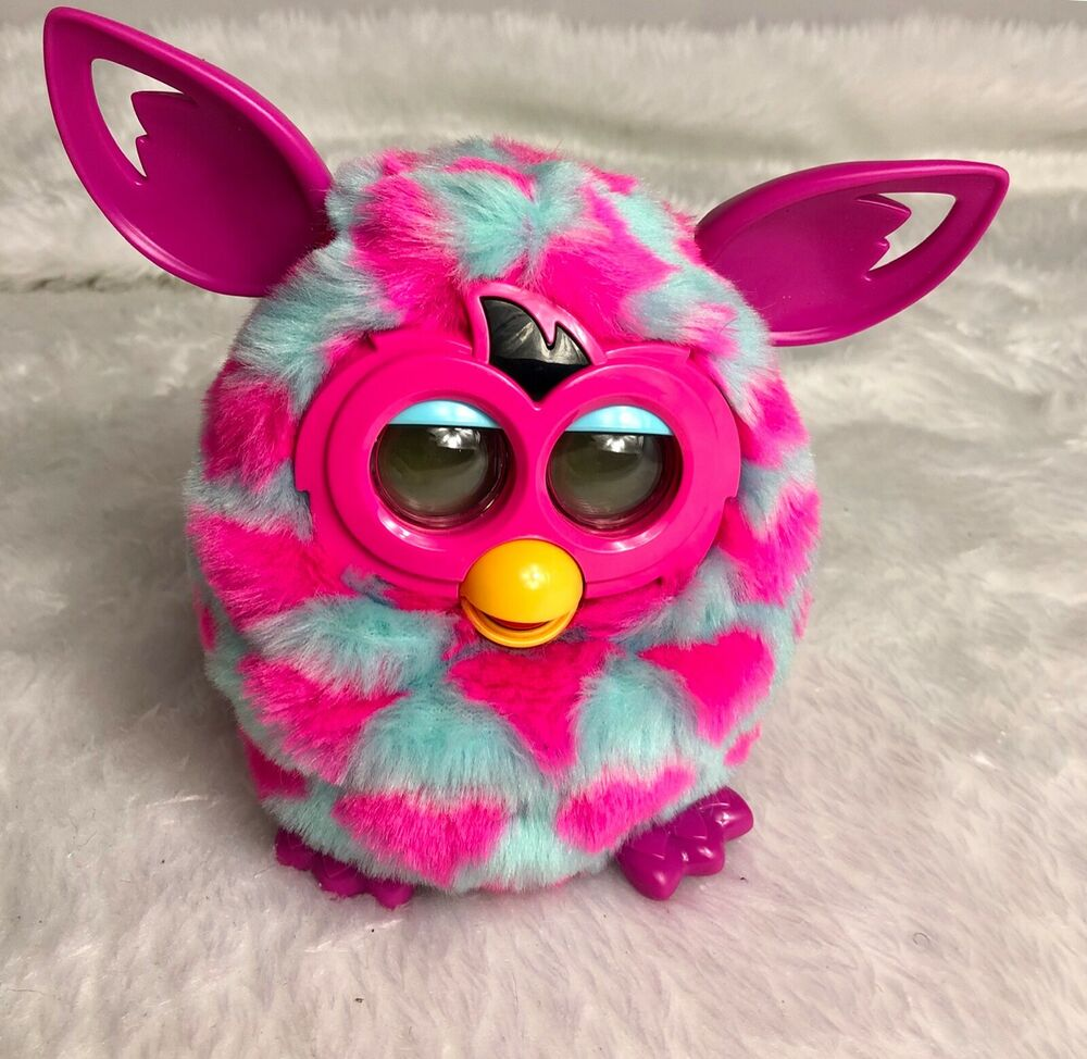 Hasbro Furby Boom Interactive Talking Toy - Light Blue w'