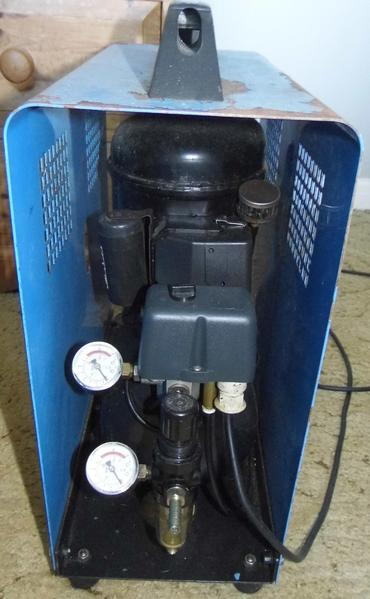 MGF Baby 6/30 Air Compressor In Good Working Order