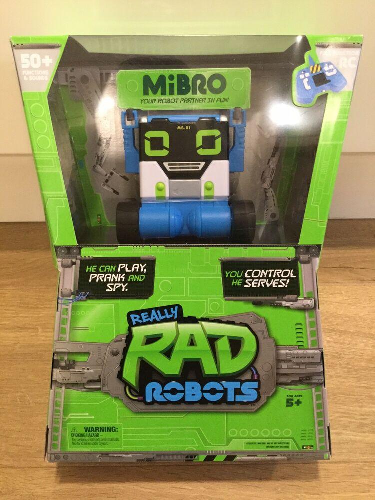 MiBRO Really RAD Robots RC Interactive Robot - NEW & SEALED