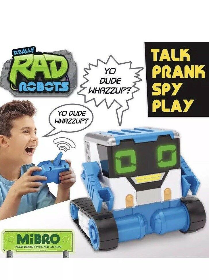 MiBRO Really RAD Robots RC Interactive Robot can Play Prank