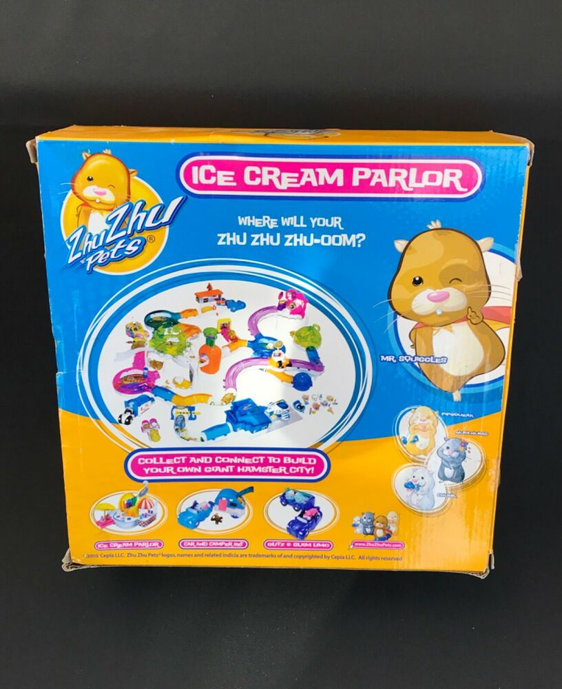 Zhu Zhu Pets Ice Cream Parlour Electronic Pets Set