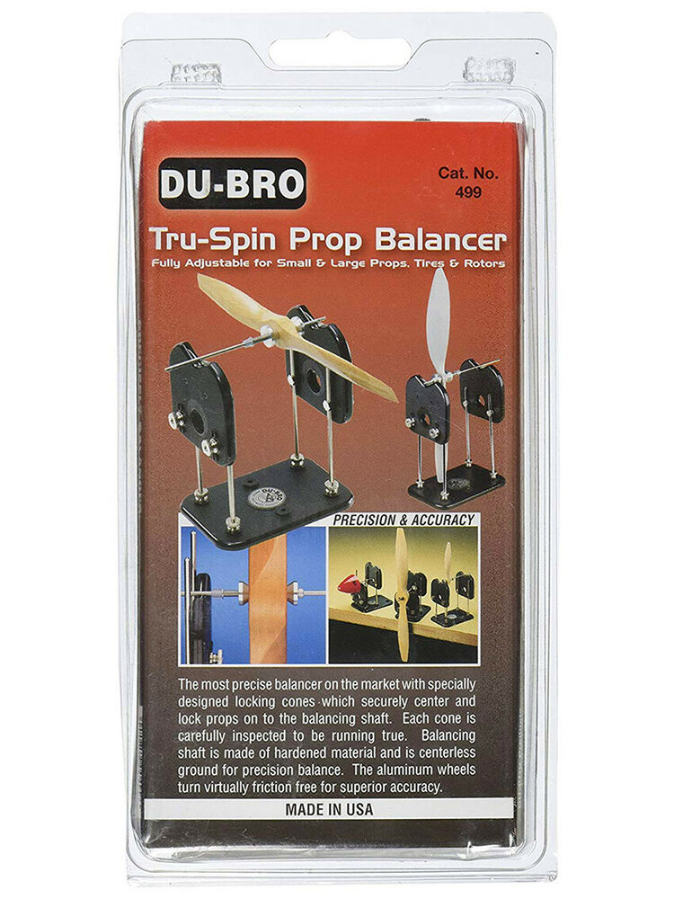 Du-Bro Tru-Spin Prop Balancer Plans Drone Quad Propeller