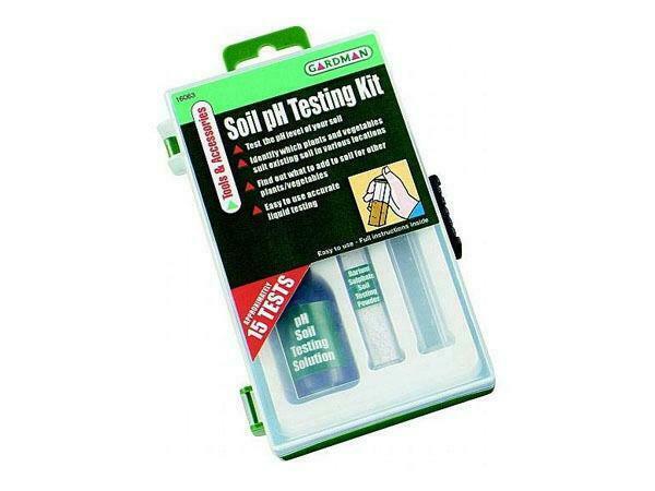 Gardman Soil pH Testing Kit For Greenhouse / Conservatory /