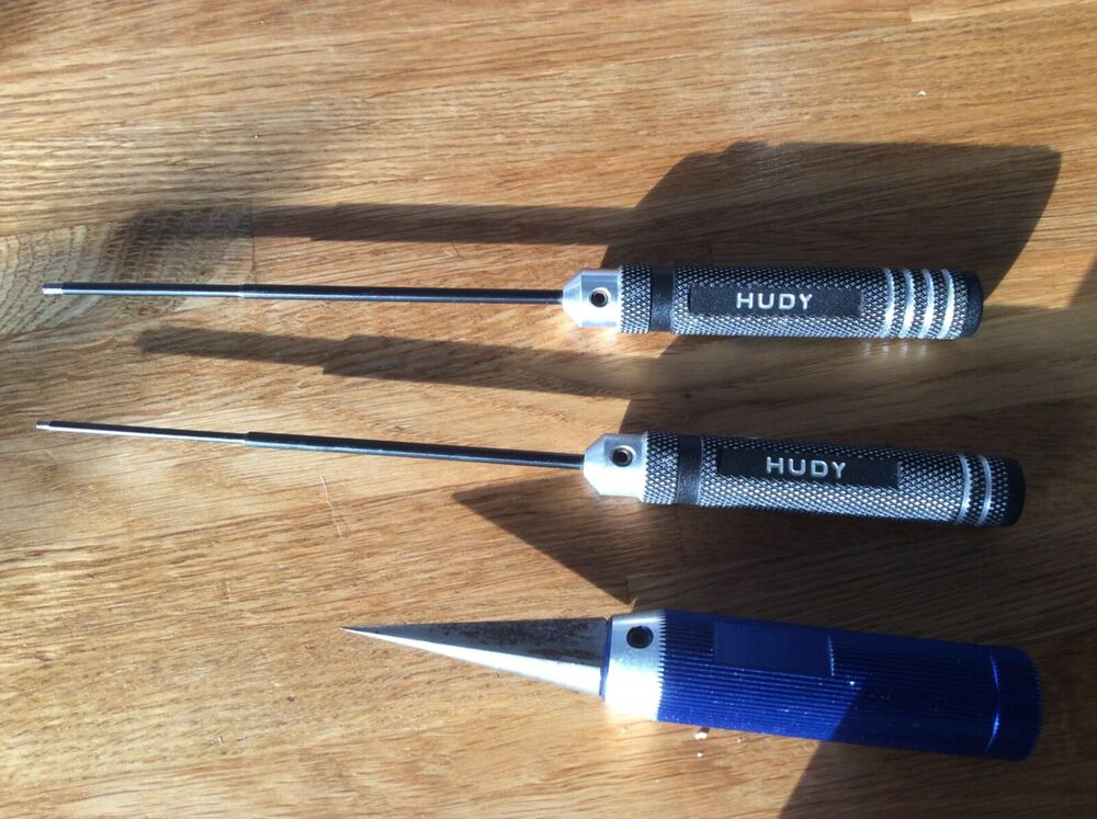 Hudy tools for remote controlled cars etc