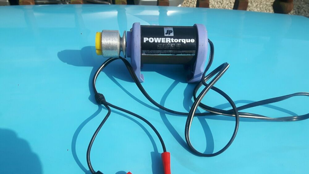 JP Power Torque II 12V Starter Motor Electric RC Plane NO