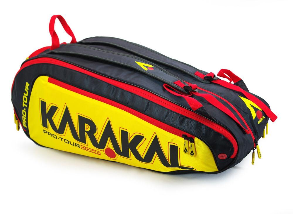 Karakal Pro Tour Comp 9 Racket Bag Sports Equipment Backpack