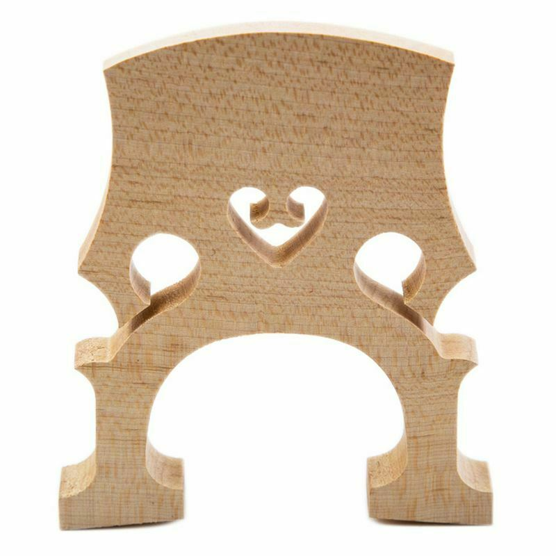 1X(Professiona l Cello Bridge for 1/2 Size Cello Exquisite