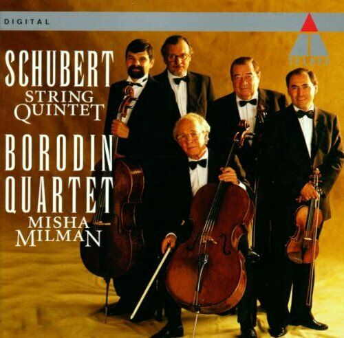 Borodin Qt - Schubert: String Quartet - Borodin Qt CD NNVG