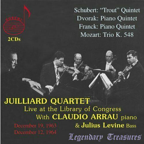 Juilliard String Quartet Vol.  (Arrau) (US IMPORT)