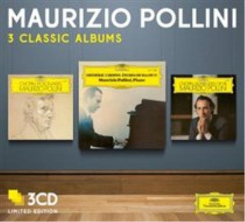 Maurizio Pollini: Three Classic Albums CD NEW