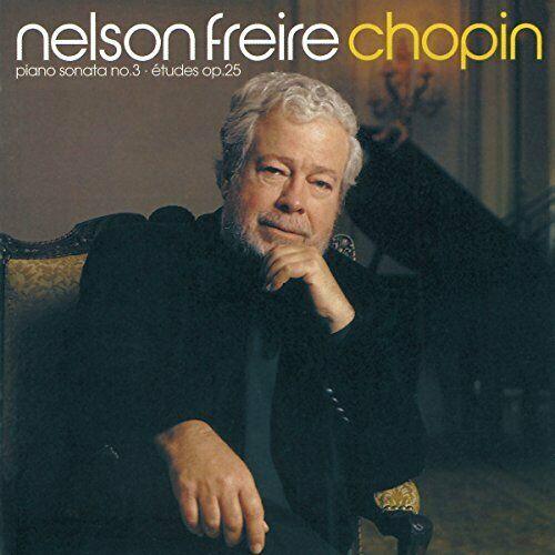 Nelson Freire - Chopin: Piano Sonata 3, 12 Etudes op2... -