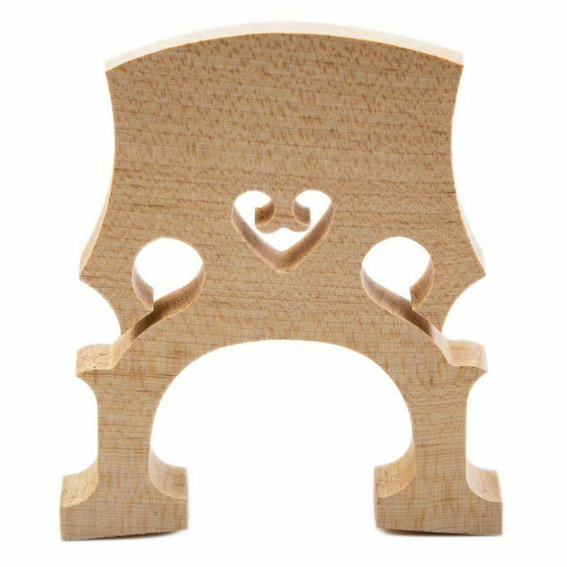 Professional Cello Bridge for 1/2 Size Cello Exquisite Maple
