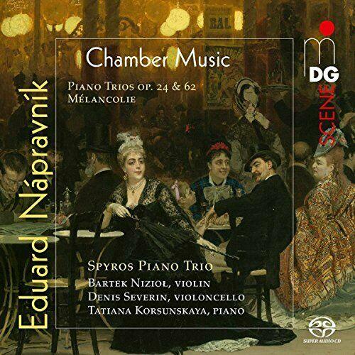 Spyros Piano Trio - Eduard Napravnik: Complete Piano Trios