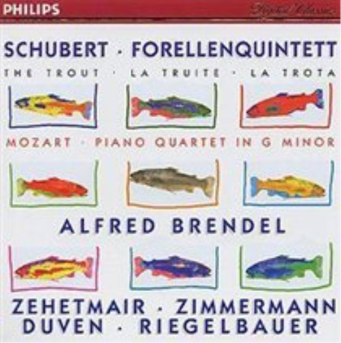 The Trout - Mozart-Piano Quartet in G minor CD NEW