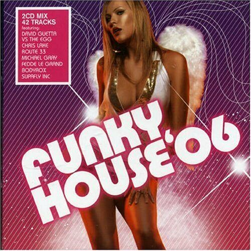 Various Artists - Funky House 06 - Various Artists CD KEVG