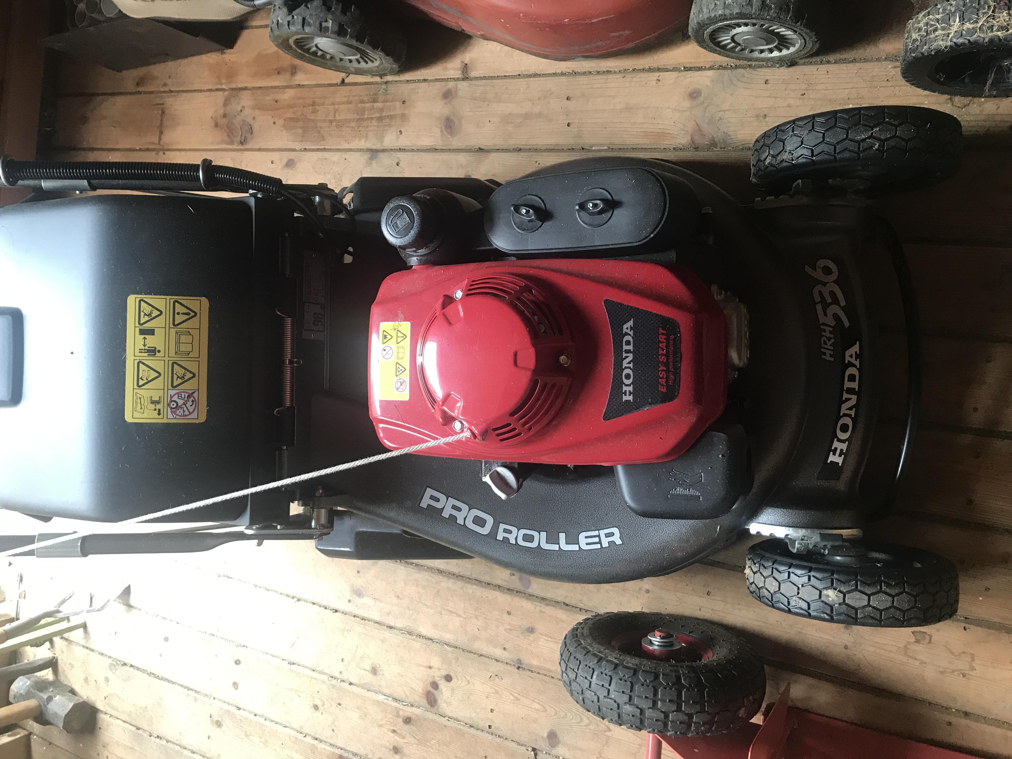 HONDA HRH536 QX Pro Petrol Mower