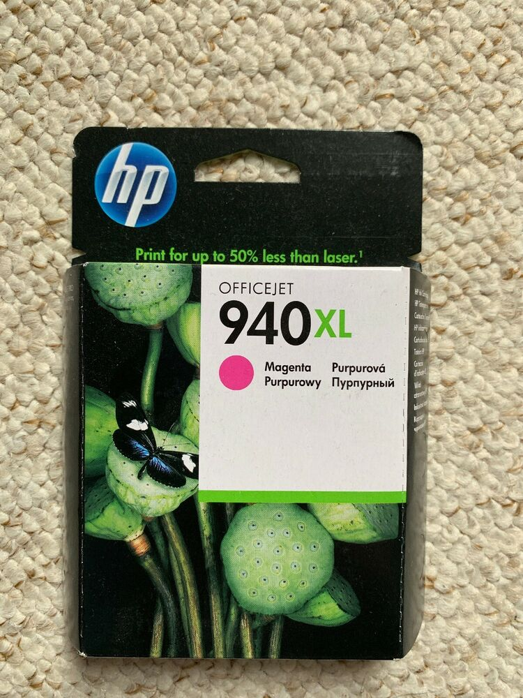 Genuine OEM HP Officejet Pro 940XL Magenta Printer Ink