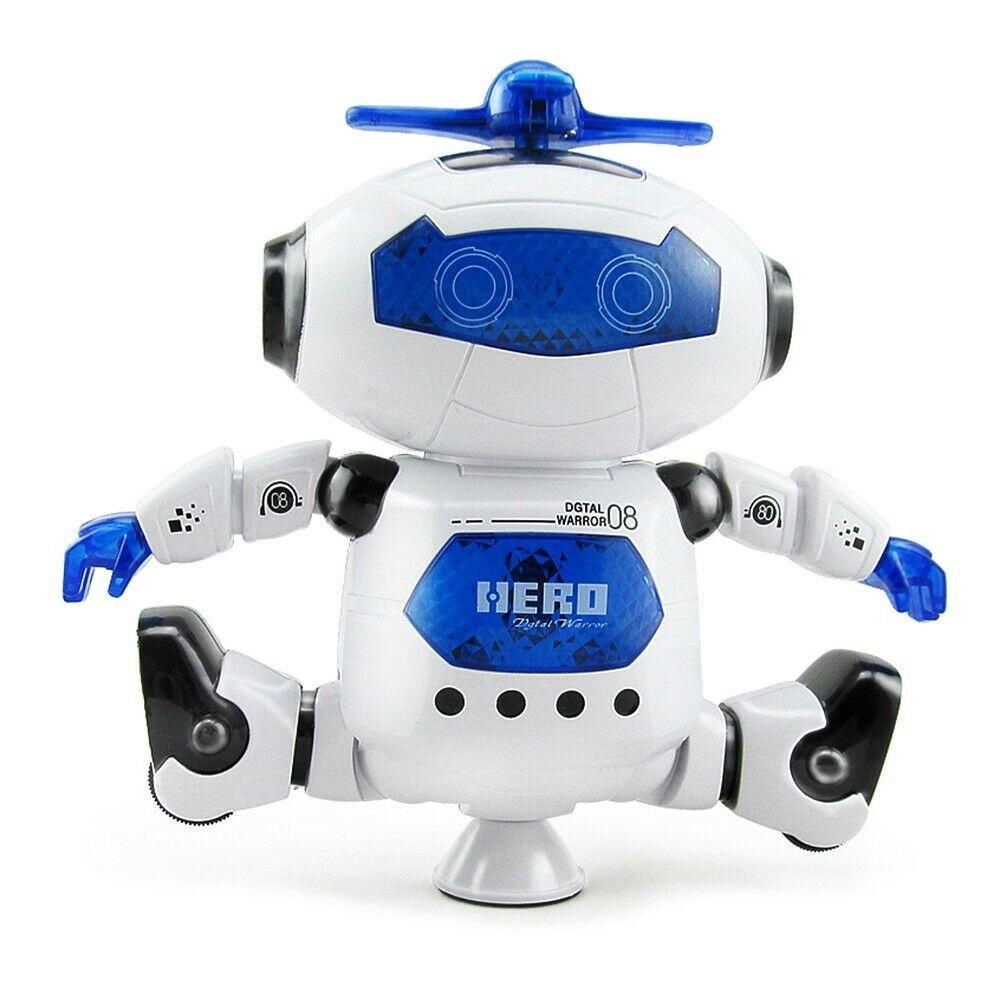 Kids Electronic Walking Dancing Robot with Music Light Fun