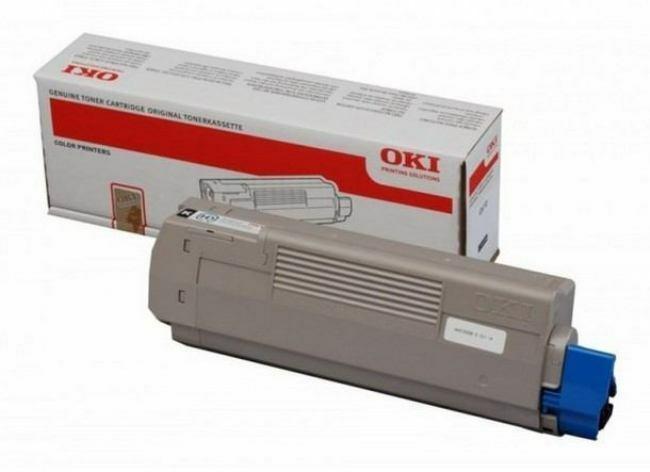 OKI  - C610 Black Toner 8K