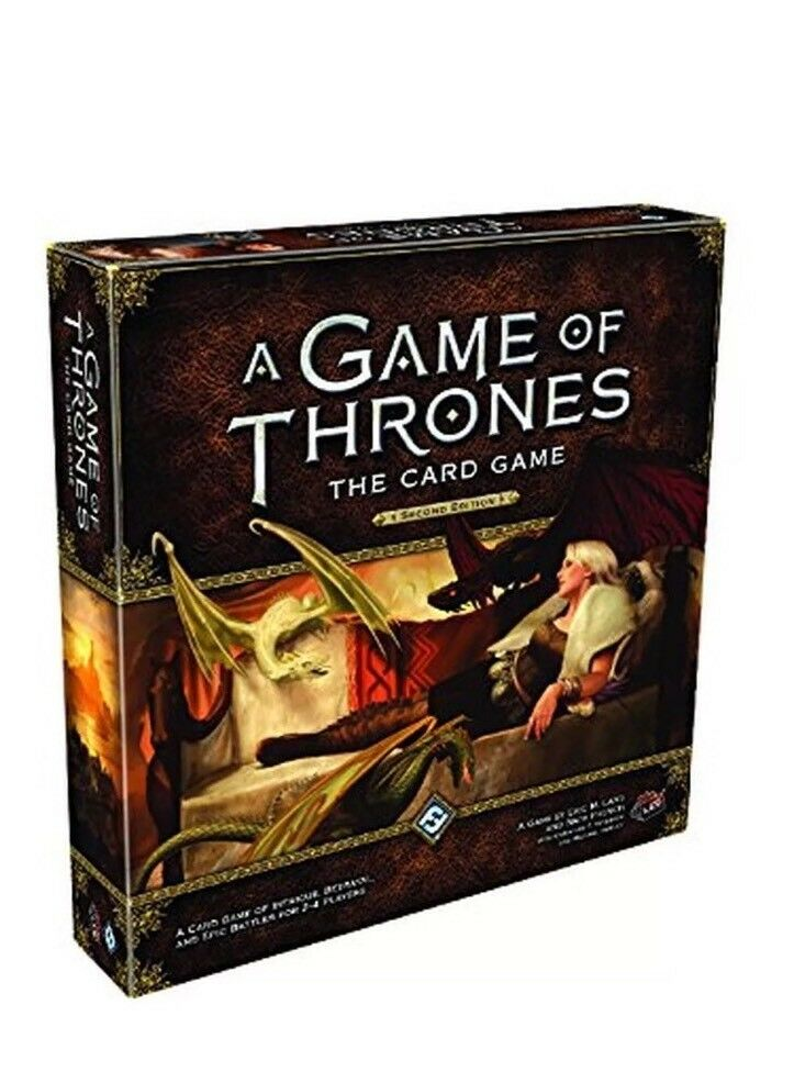 A Game of Thrones The Card Game Second Edition Brand New