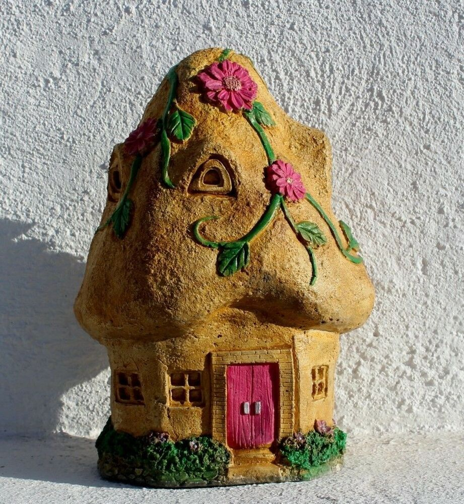 Blossom Fairy House, Stone Garden Decoration, Gift Cornwall