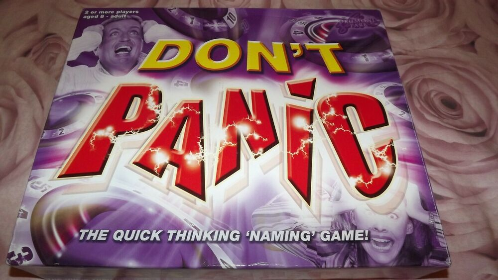 DON'T PANIC Family Board Game by Drumond Park  COMPLETE