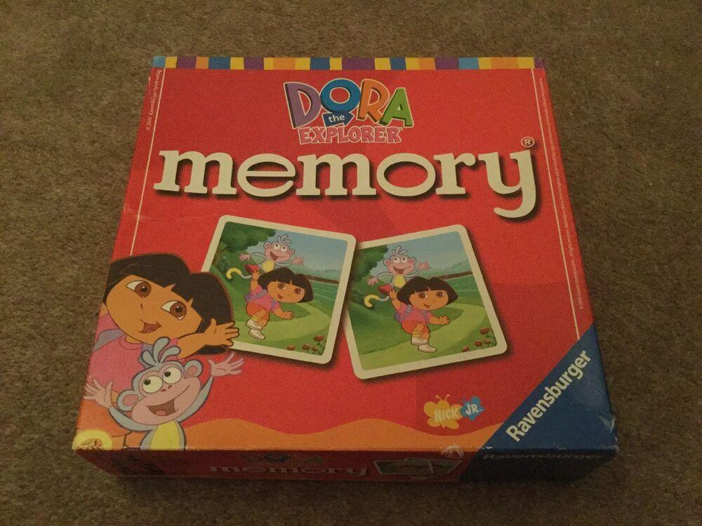 Dora The Explorer Memory Game, Ravensburger, VGC