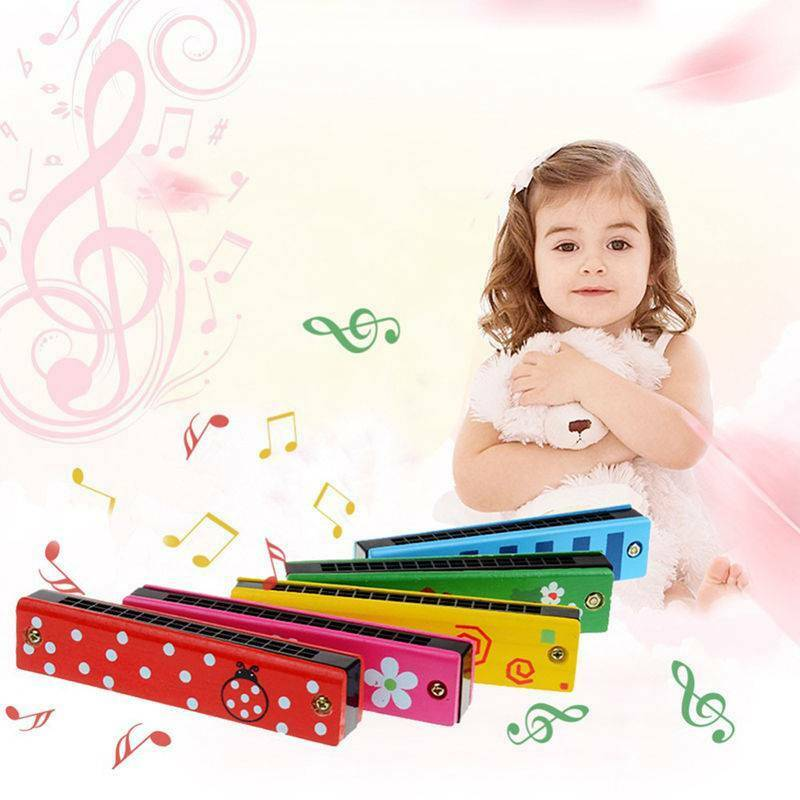 Educational Toy Baby Kids Harmonica 16 Holes Musical